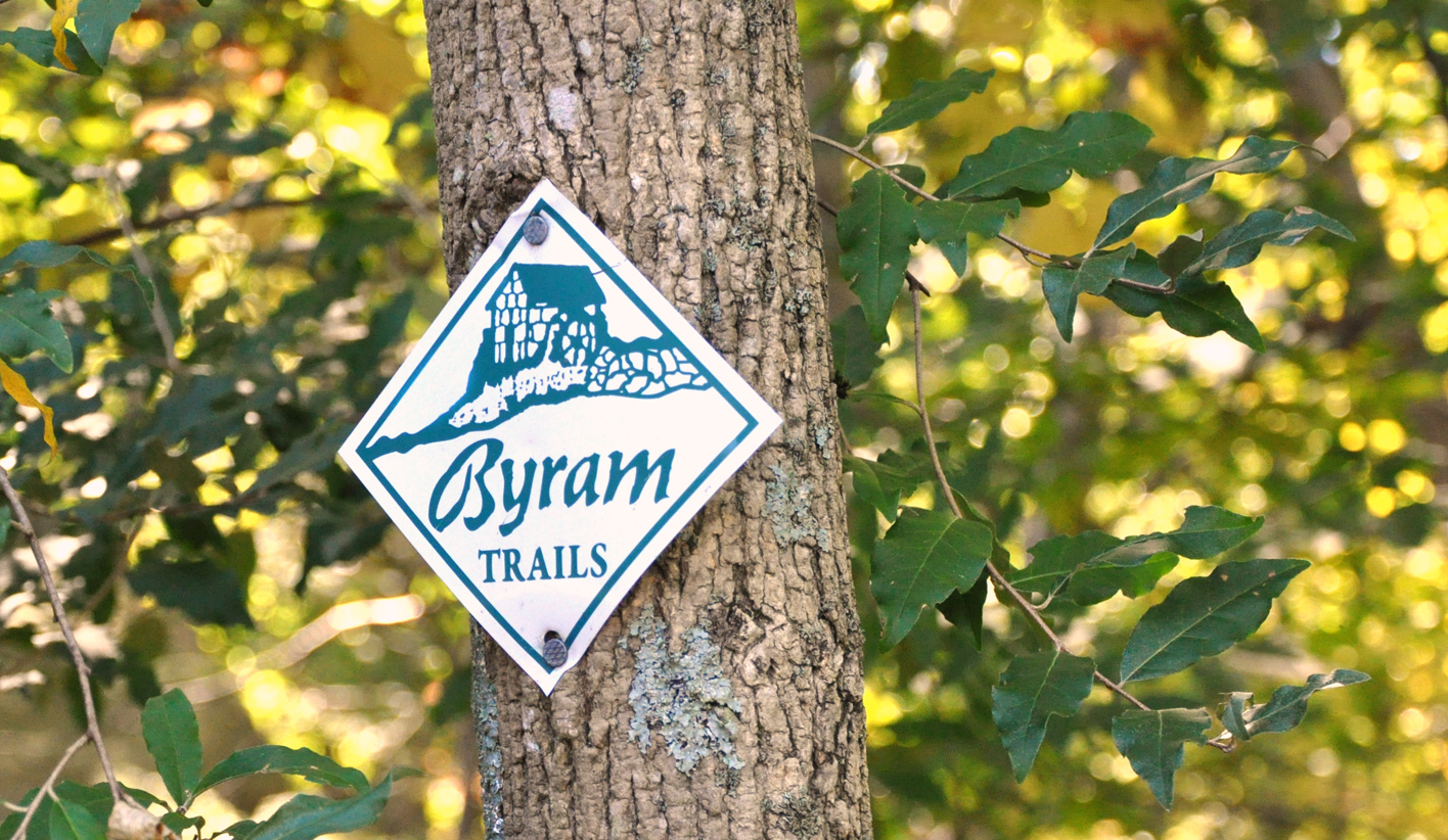 Byram Trails Marker